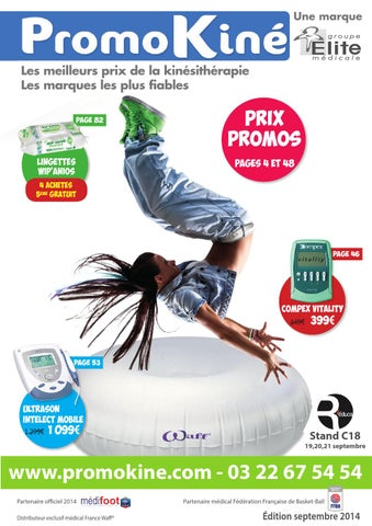 Catalogue Promokiné septembre 2014 by Elite Médicale - issuu b69df372363
