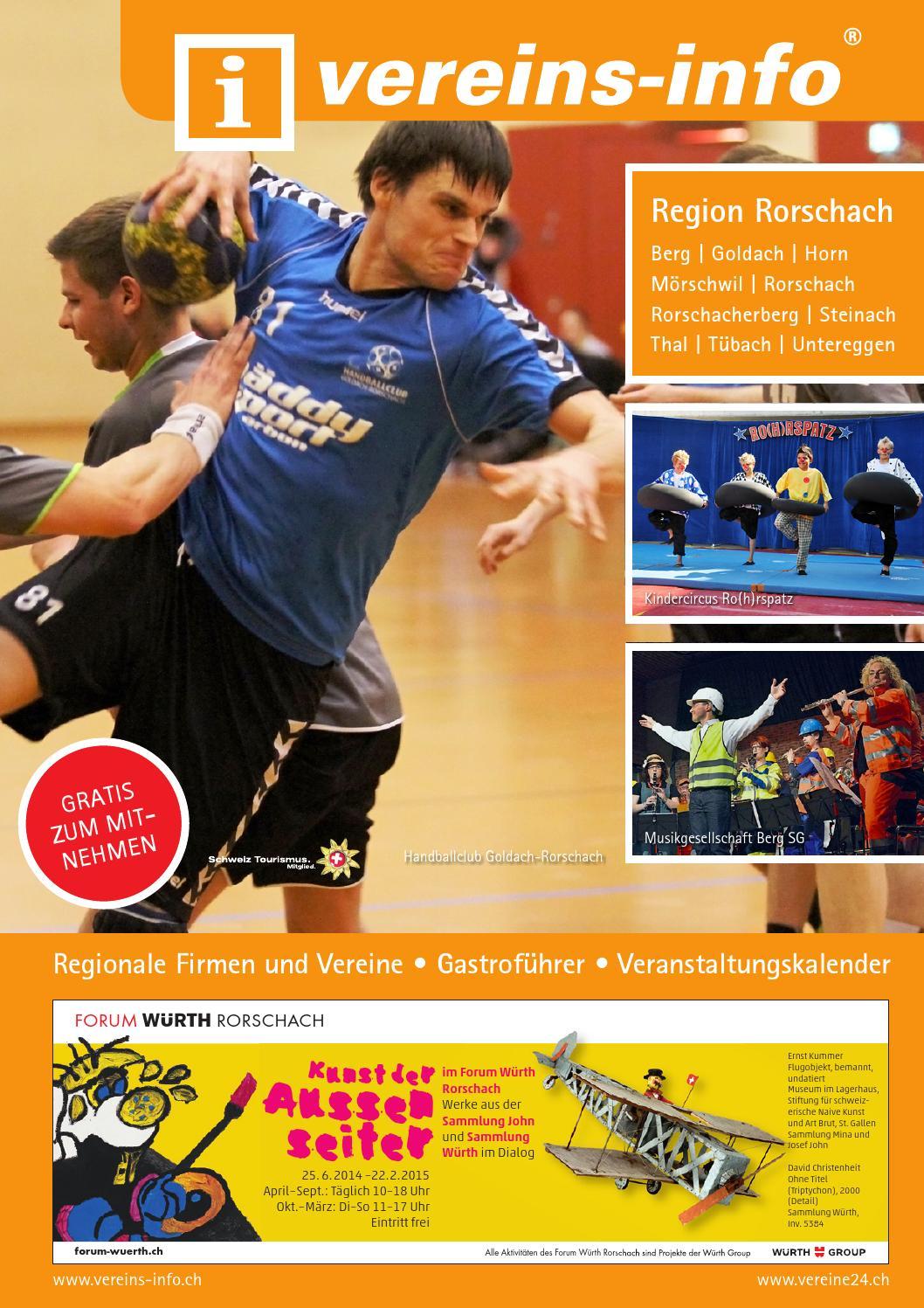 Vereins-info Rorschach 2014 by Miplan AG - issuu