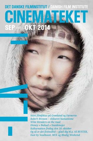 6fee483bf4f6 Cinemateksprogram september oktober 2014 by Det Danske Filminstitut ...