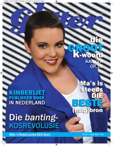 "Cover of ""Glitter-magazine-Kimberley"""