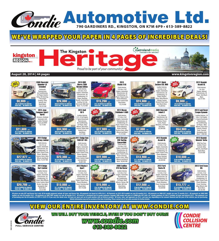7aa21320ec0 Kingston 082814 by Metroland East - Kingston Heritage / Real Estate Guide -  issuu