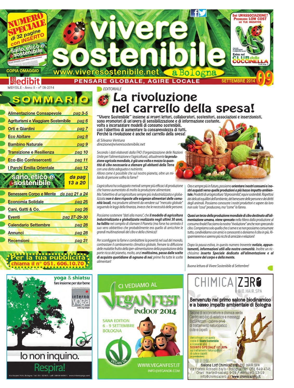 Vivere Sostenibile n. 9  Speciale SANO d42c42122f5