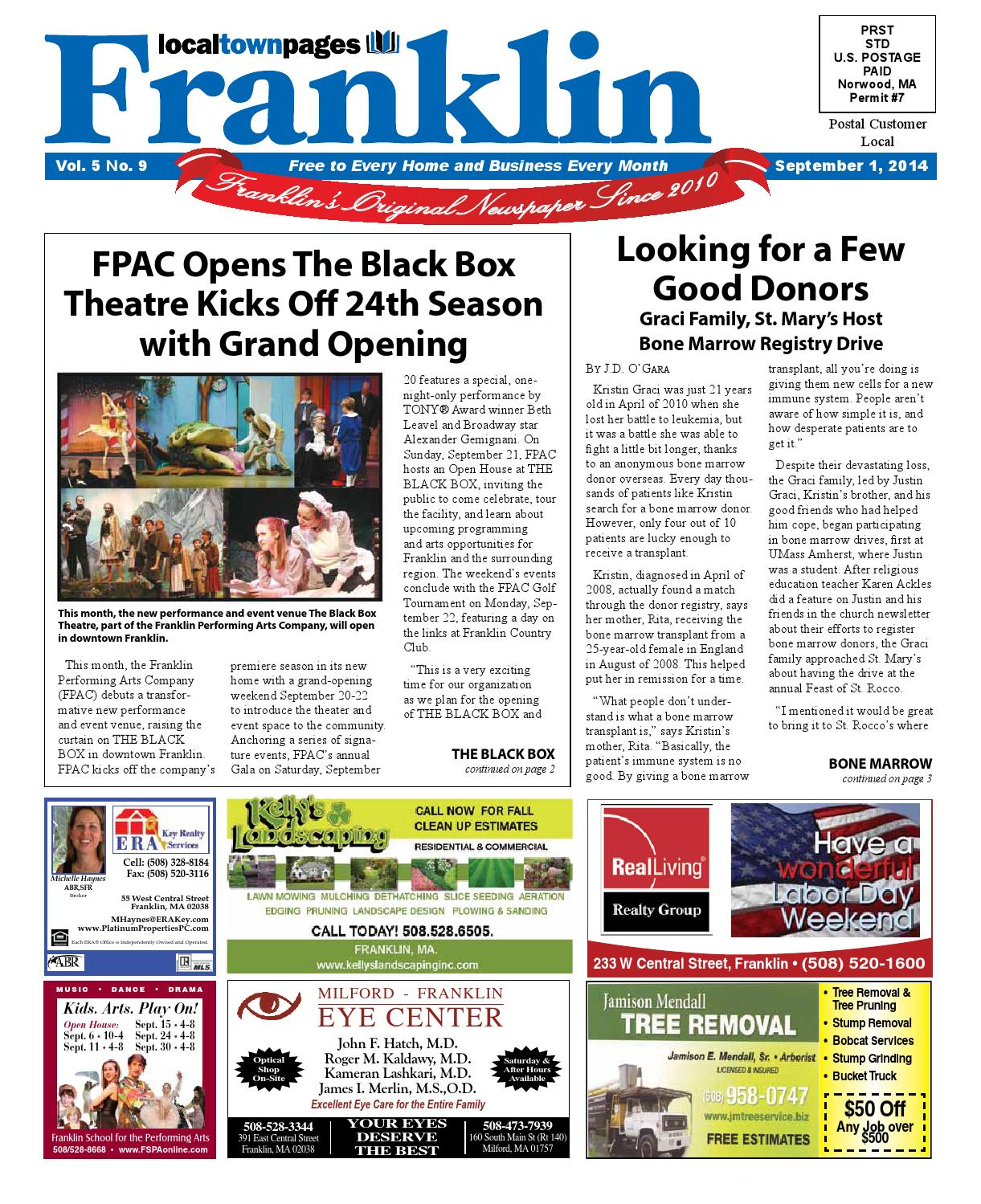 Franklin September 2014 By Local Town Pages Issuu