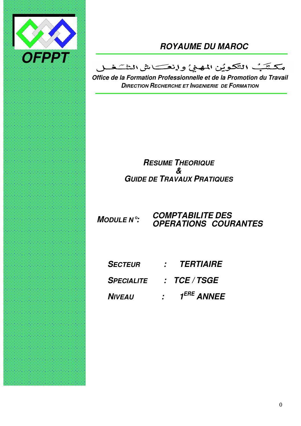 module 08 tsge comptabilit u00e9 des op u00e9rations courantes et