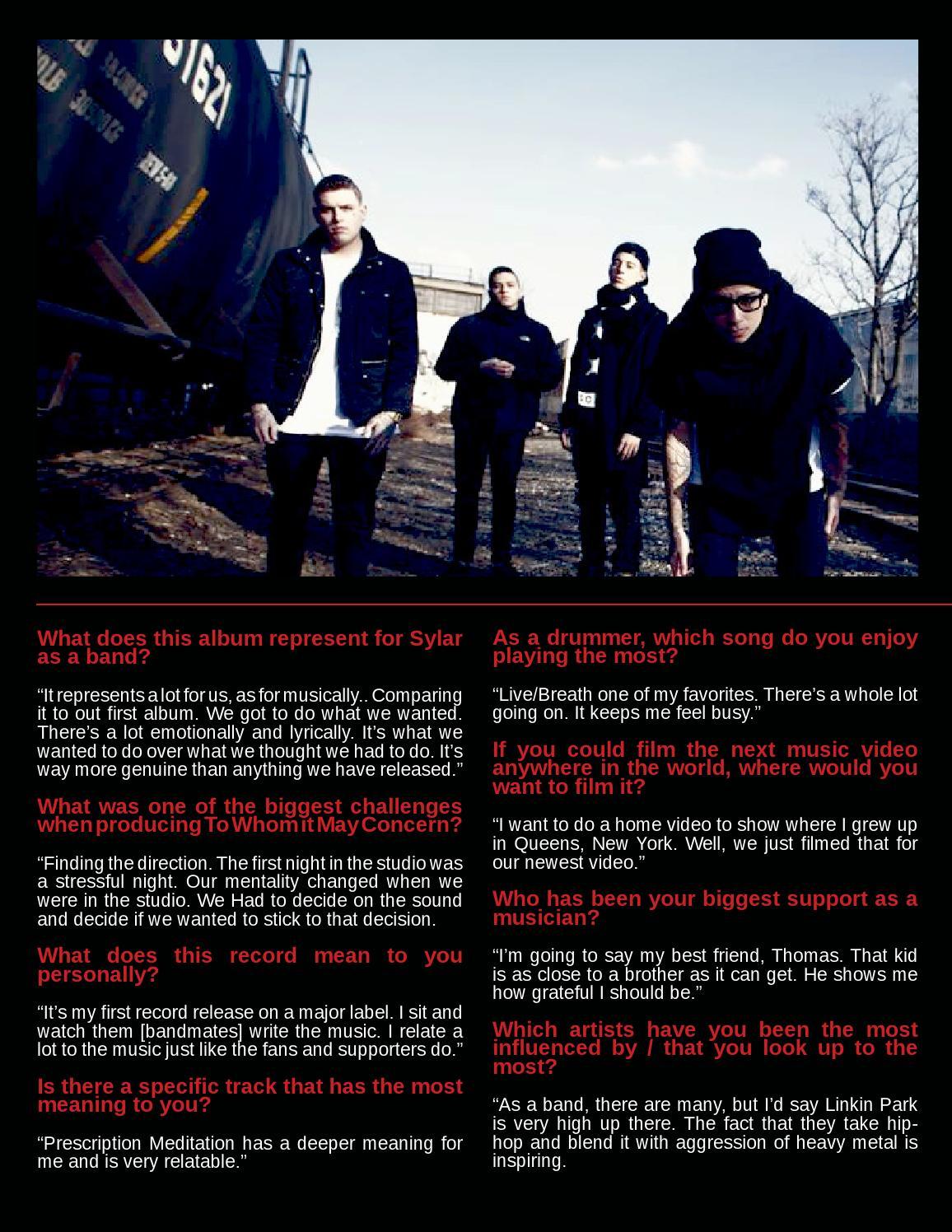 BROKEN RECORDS MAGAZINE presents ECHOSMITH by Broken Records