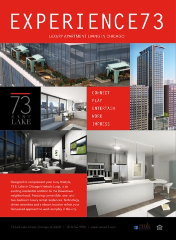 EXPERIENCE73 LUXURY APARTMENT LIVING IN CHICAGO