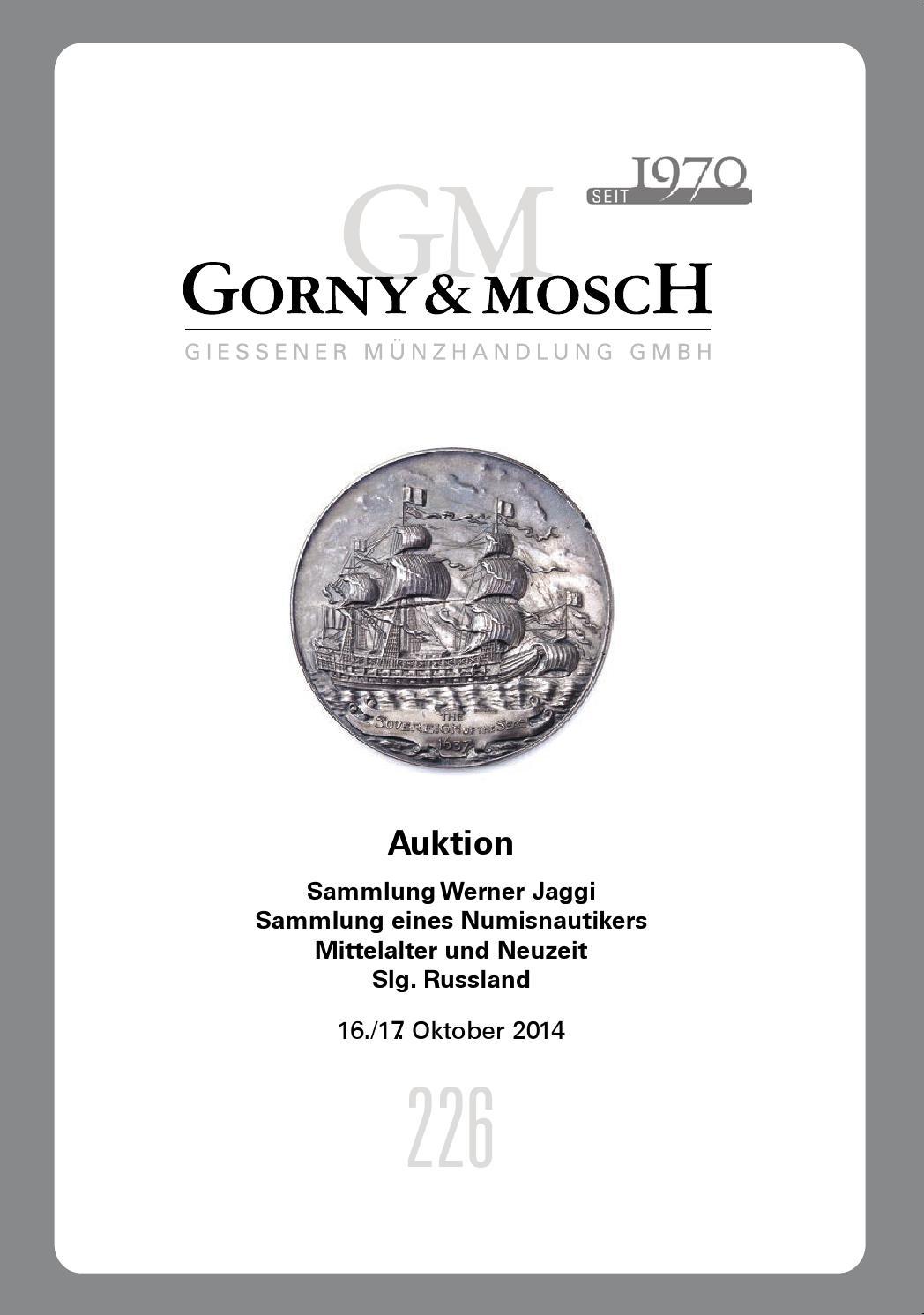 Gorny & Mosch Auktionskatalog 226 by Gorny & Mosch Giessener ...