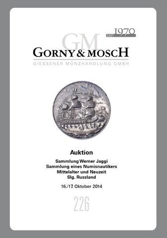 Gorny Mosch Auktionskatalog 226 By Gorny Mosch Giessener