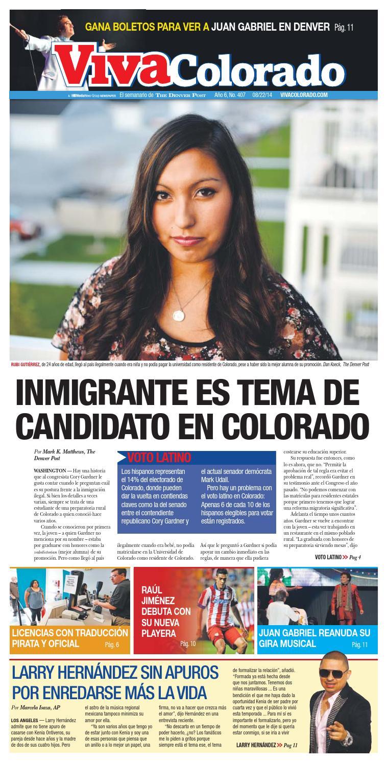 Viva Colorado - Inmigrante es tema de candidato en Colorado - 08.22 ...