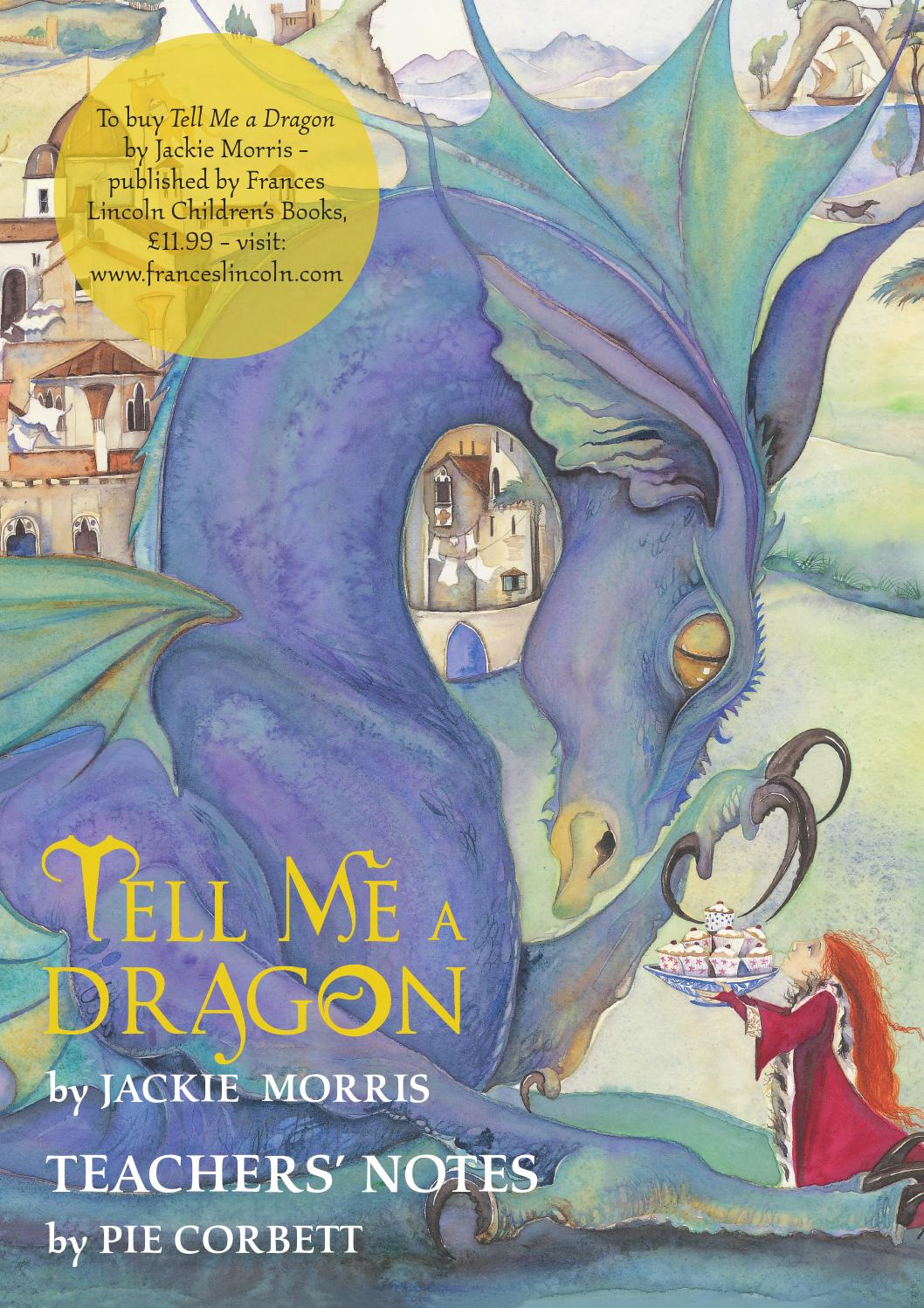 tell me a dragon teachers u0026 39  notes by quarto publishing