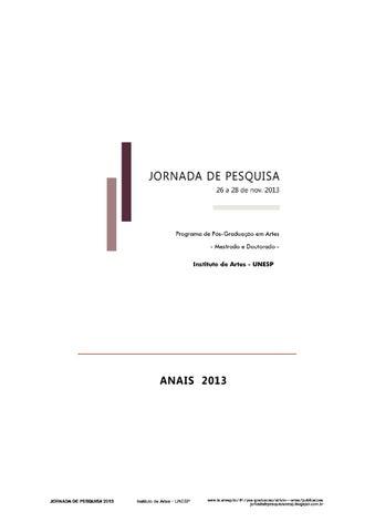 0a1d7330c1 Jornadadepesquisa2013 anais final by Jornada de Pesquisa IA-UNESP ...