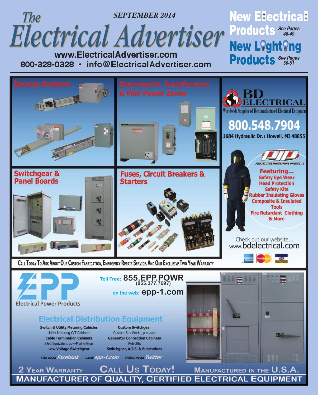 Electrical Advertiser September 2014 By Issuu Details About Square D Kal36100 100 Amp 600 Volts Circuit Breaker