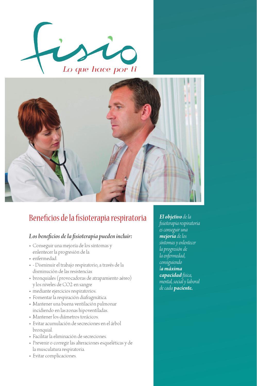FISIOTERAPIA RESPIRATORIA by MDESIGN - issuu