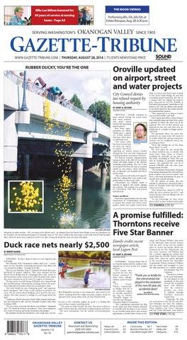 Okanogan Valley Gazette-Tribune, August 28, 2014 by Sound