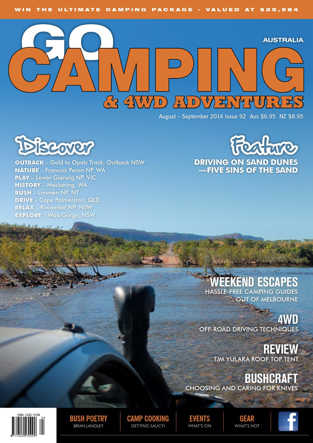 Go Camping Amp 4wd Adventures Issue 92 By Vink Publishing