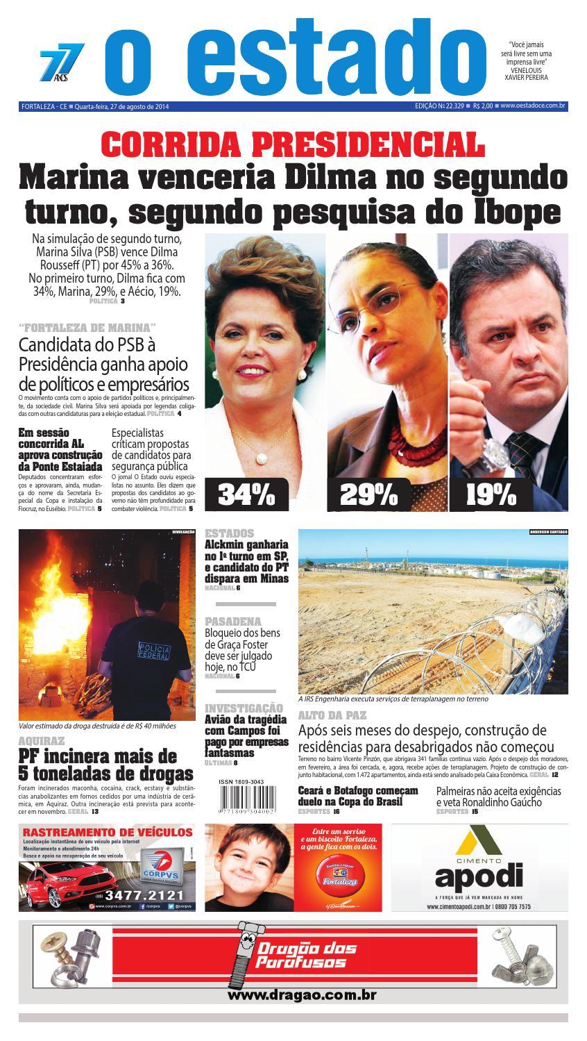 Edição 22329 - 27 de agosto de 2014 by Jornal O Estado (Ceará) - issuu