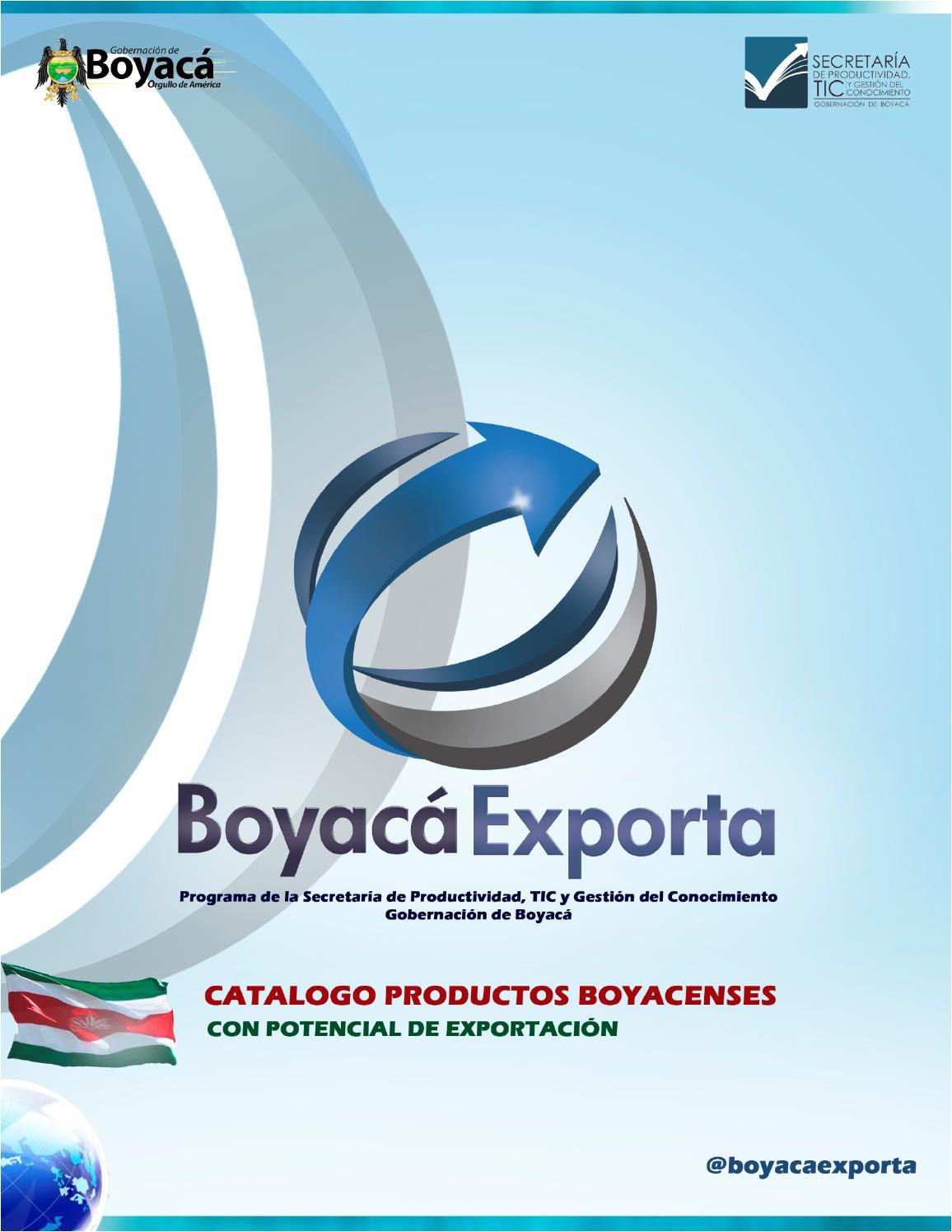 Cat Logo De Productos Boyacenses Boyac Exporta By Secretar A  # Muebles Rusticos Duitama Boyaca