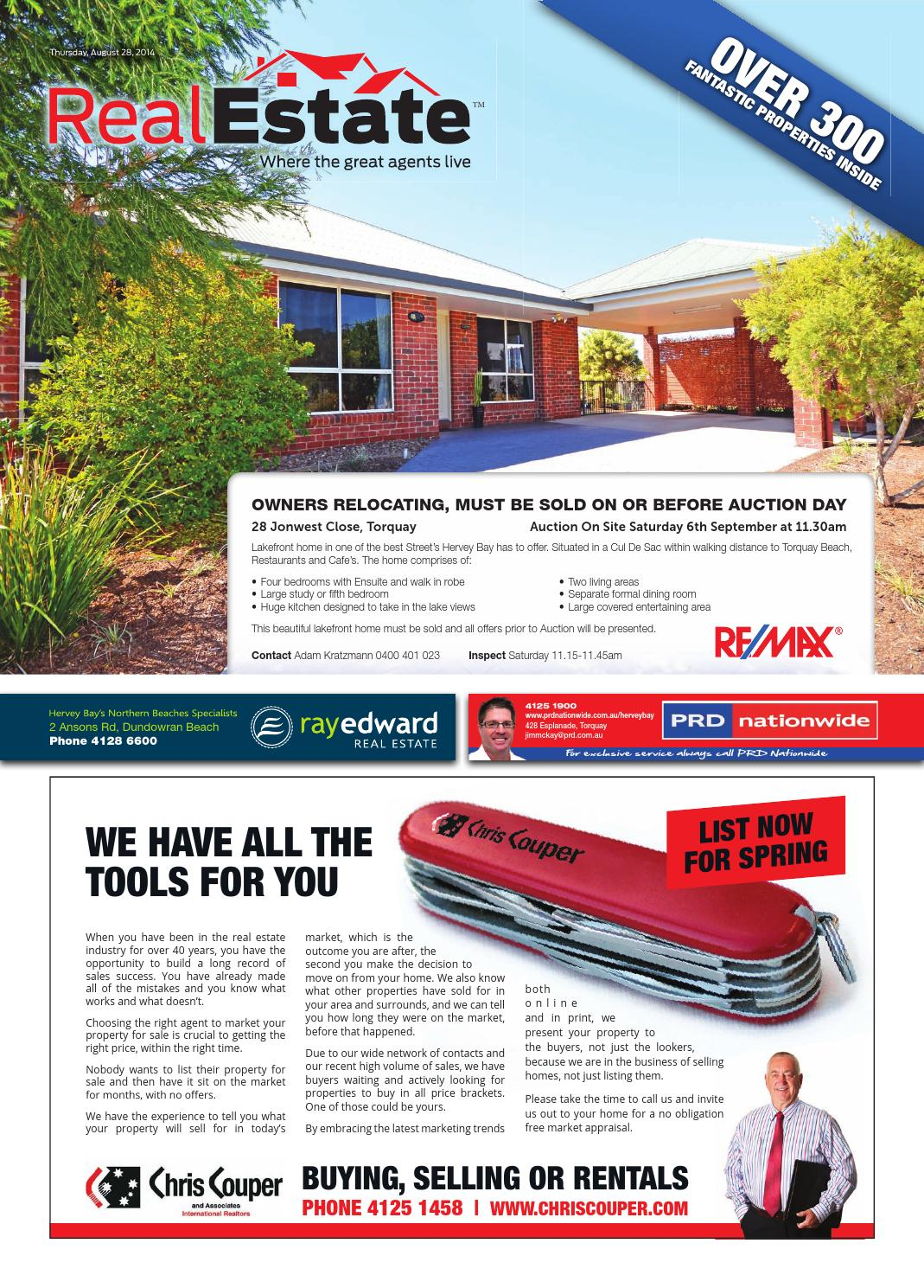 Real Estate 28 August 2014 By Hervey Bay Independent
