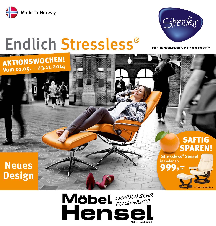 Stressless Herbst 2014 By Mobel Hensel Issuu