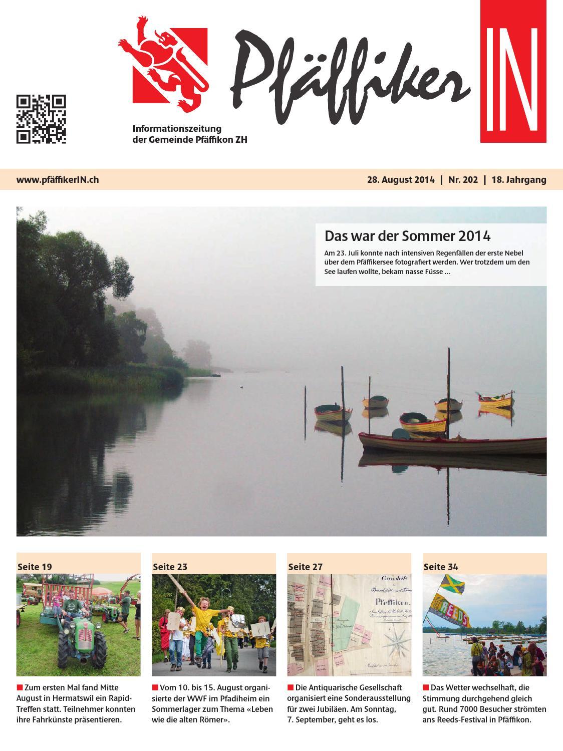 PfäffikerIN August 2014 by Schellenberg Druck AG - issuu