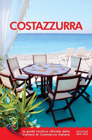 Guida turistica costazzurra 2014 by chambre de commerce - Chambre de commerce italienne en france ...