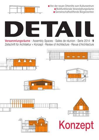 DETAIL 09/2014 KONZEPT Versammlungsräume · Assembly Spaces · Salles ...