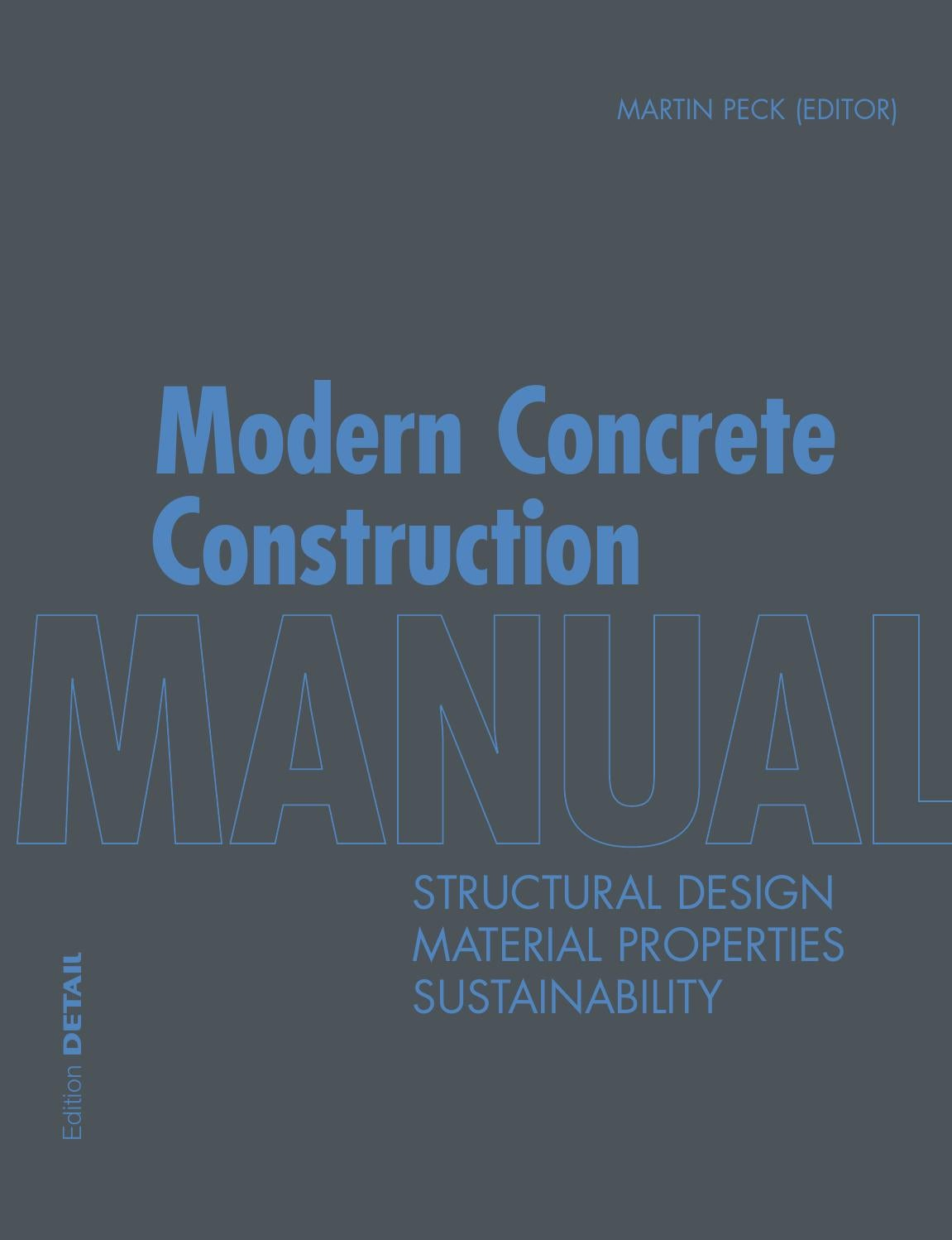 Modern Concrete Construction Manual By Detail Issuu Threephase Electrical Wiring Installation In A Multistory Building