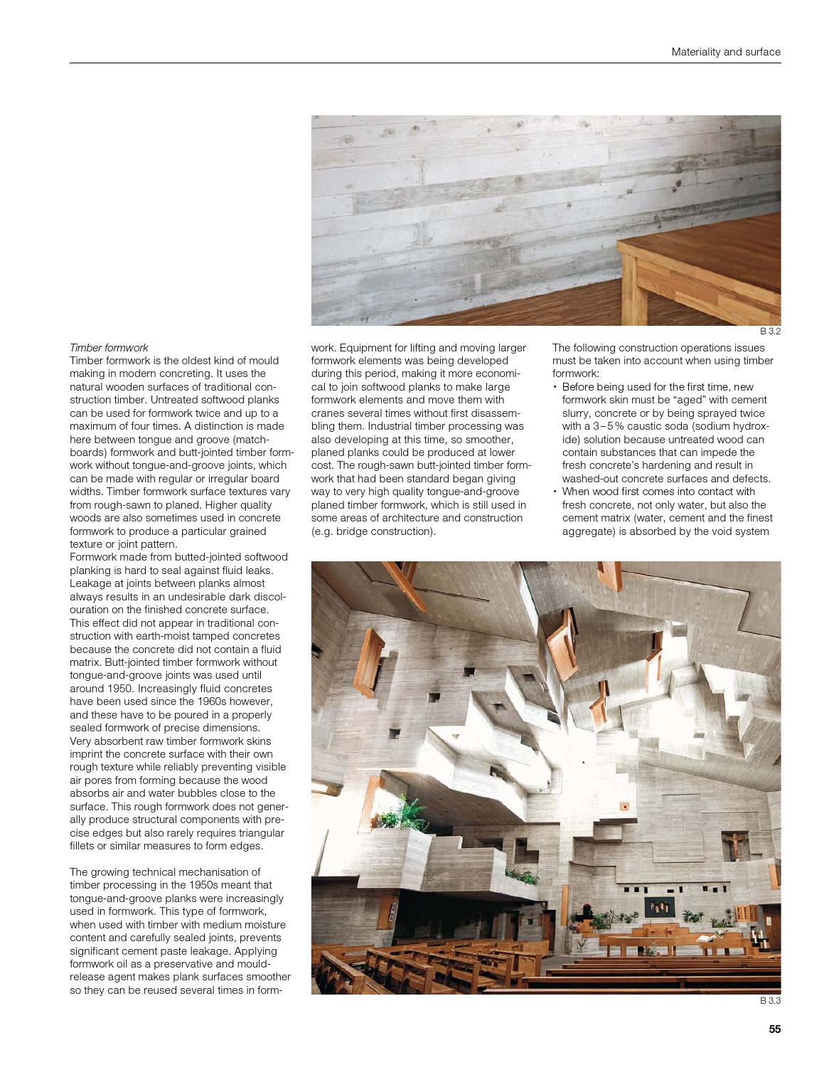 Concrete construction manual detail sanders