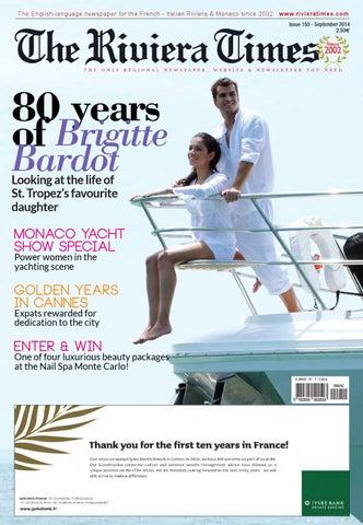 luxuriose innenausstattung yacht vive la vie, the riviera times september 2014 by riviera press - issuu, Design ideen