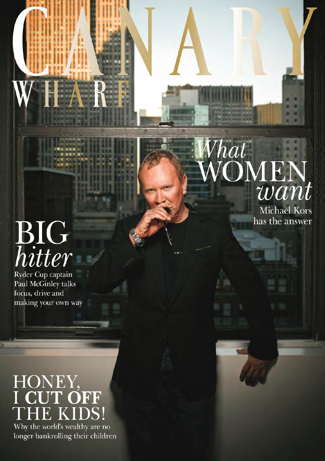 Canary Wharf Magazine September 2014 by Runwild Media Group