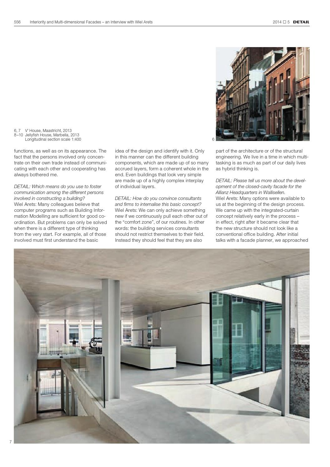DETAIL English 5/2014 - Facades by DETAIL - issuu