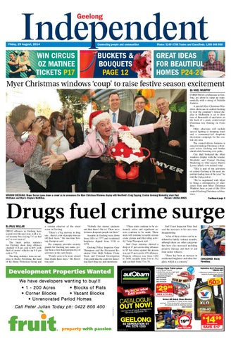 Geelong Independent 29th August 2014 By Star News Group Issuu