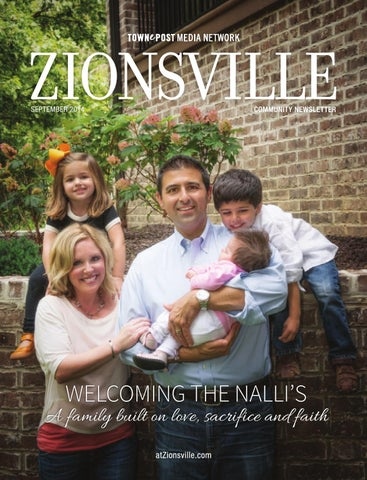 Zionsville Community Newsletter September 2014 By Towne