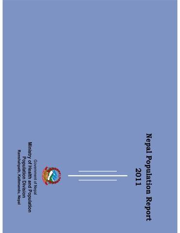 Nepal population report 2011 by shreedeep - issuu