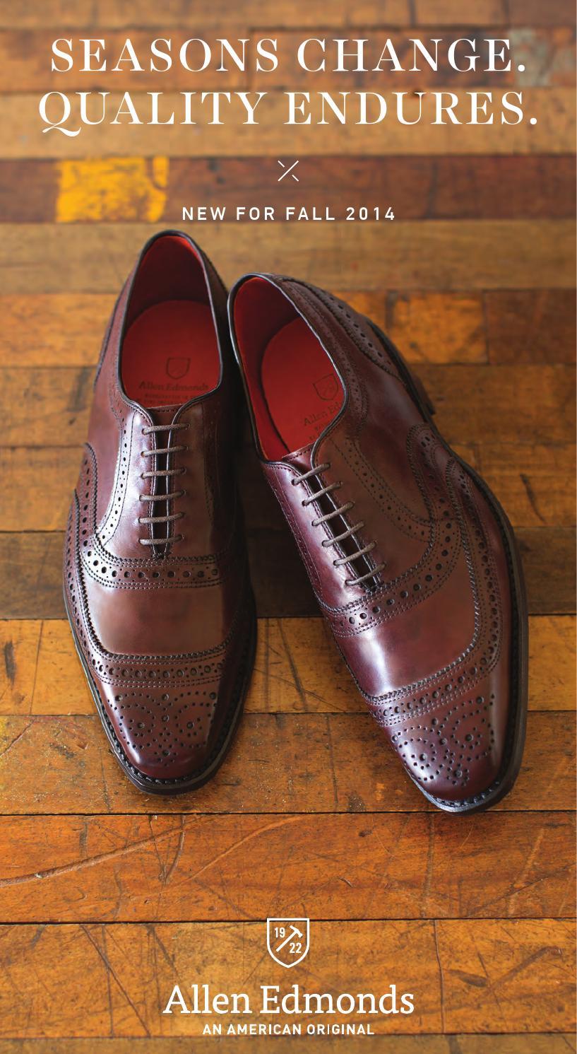 2014 allen edmonds fall catalog by allen edmonds shoe corporation