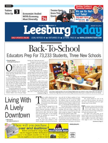 Leesburg today august 28 2014 by insidenova issuu page 1 fandeluxe Images