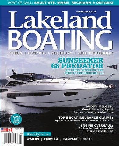 September 2014 by Lakeland Boating Magazine - issuu