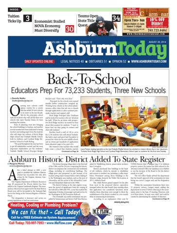Ashburn today august 28 2014 by insidenova issuu page 1 fandeluxe Image collections