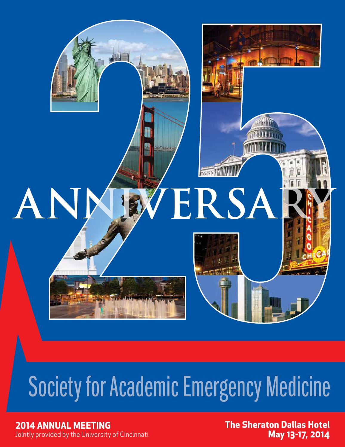 SAEM 2014 Annual Meeting Program by Society for Academic