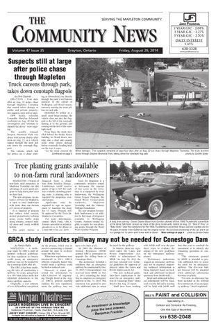 Drayton Community News August 29 2014 By Wha Publications Ltd Issuu