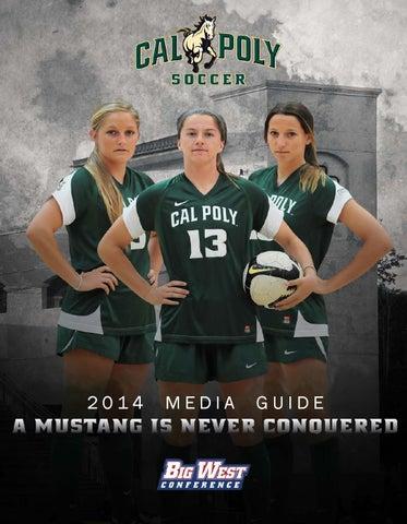 2014 Cal Poly Women's Soccer Media Guide
