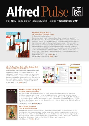 Alfred Pulse September 2014 By Devirra Music Issuu