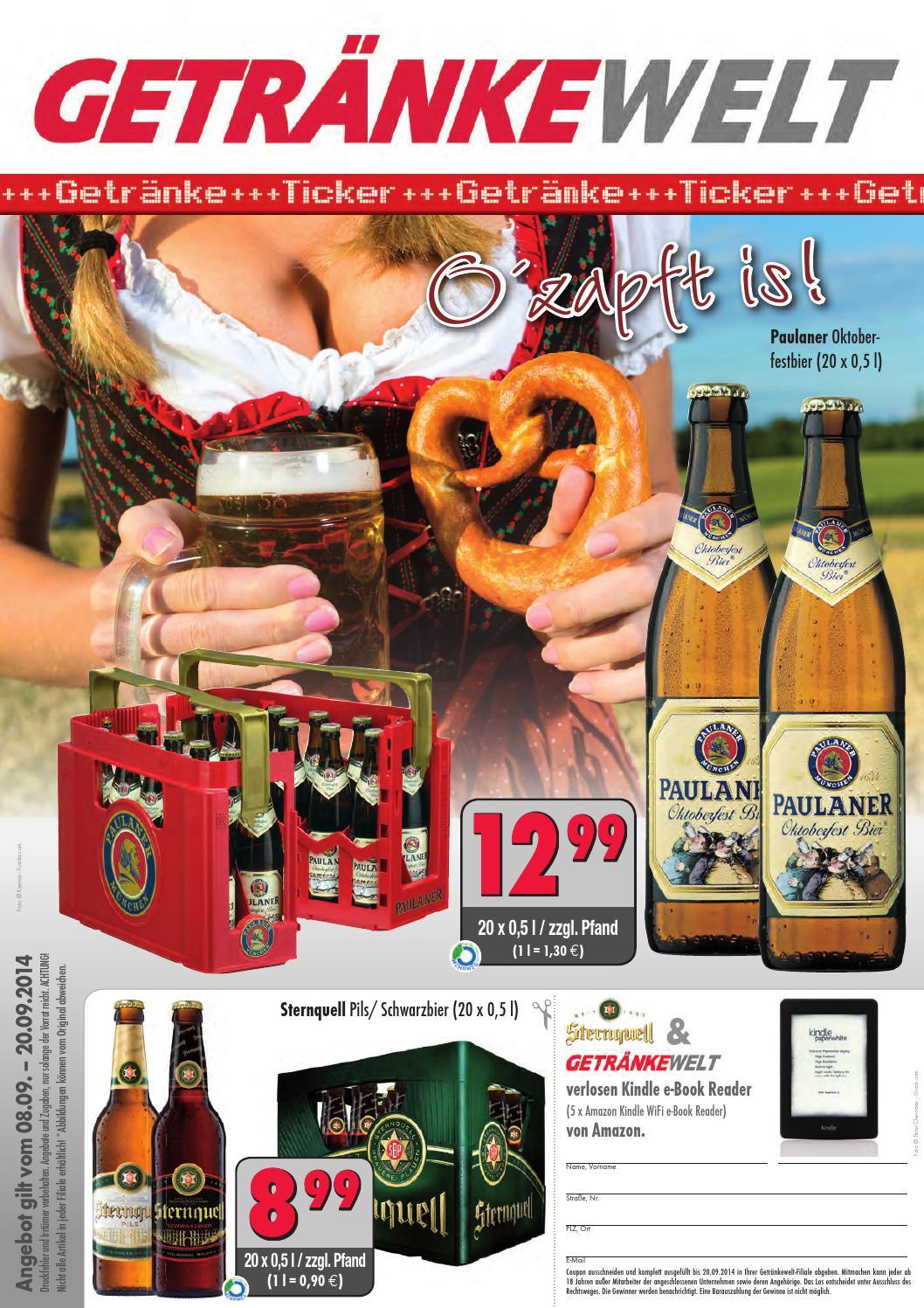 Die aktuellen Angebote der GETRÄNKEWELT by Getränke Pfeifer GmbH - issuu