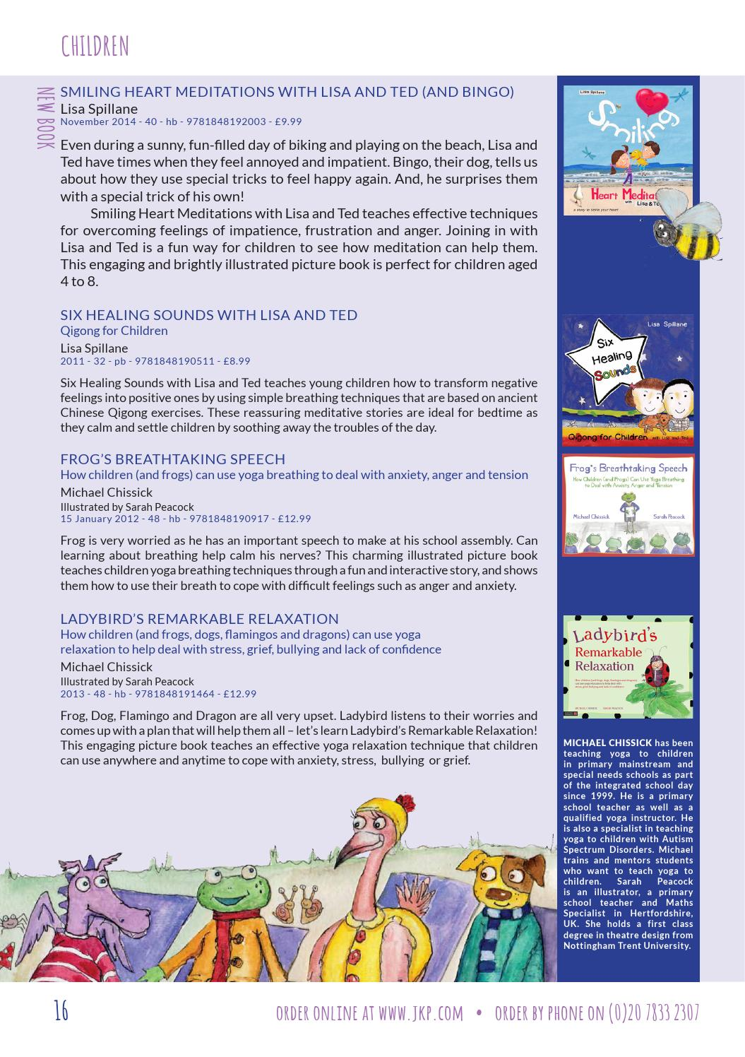 2014 september autism titles by Jessica Kingsley Publishers