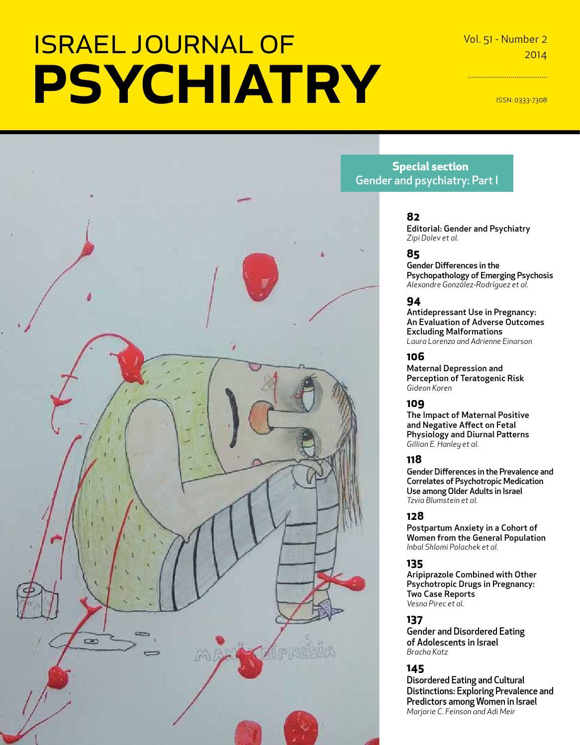 Ijp Israel Journal Of Psychiatry Vol 51 Issue 2 By Medic Issuu Mg Zr Scu Wiring Diagram