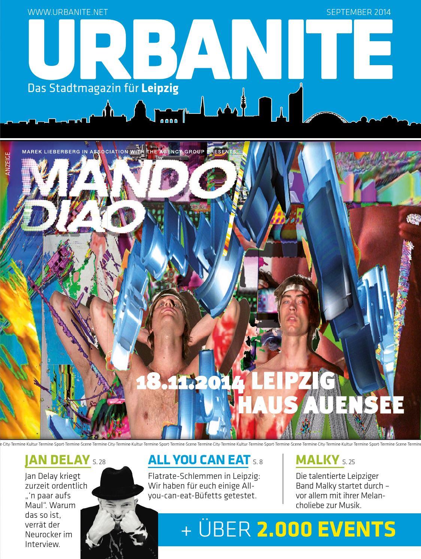 URBANITE Stadtmagazin Leipzig | September 2014 by urbanite