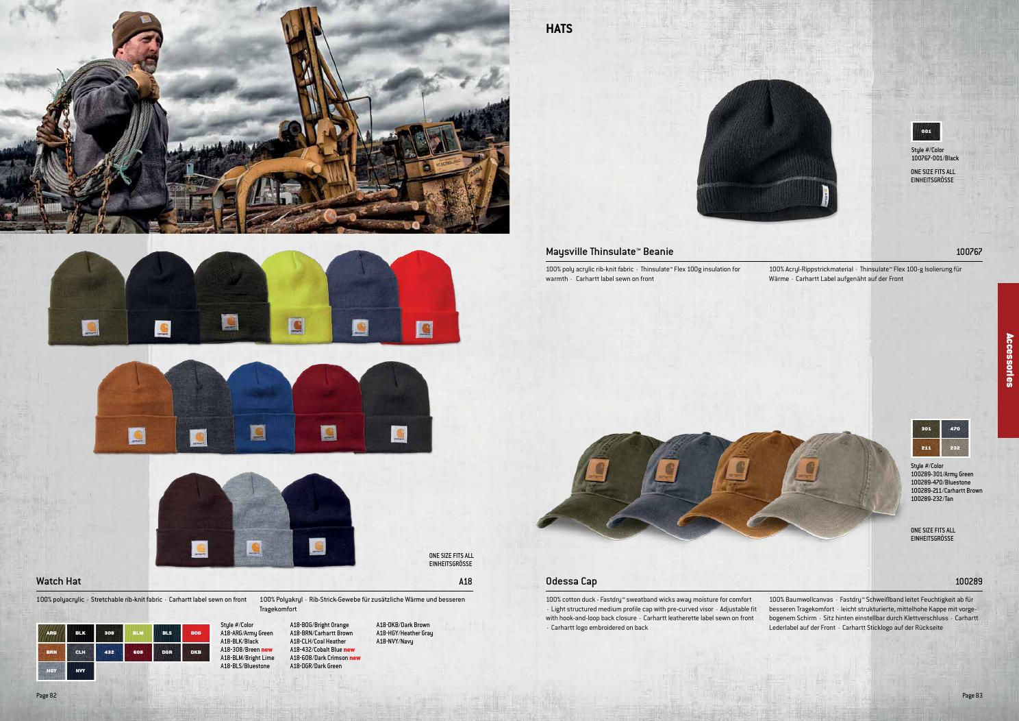 65bad432a162d7 Carhartt Workwear Europe Winter 2014 by Carhartt Europe - issuu