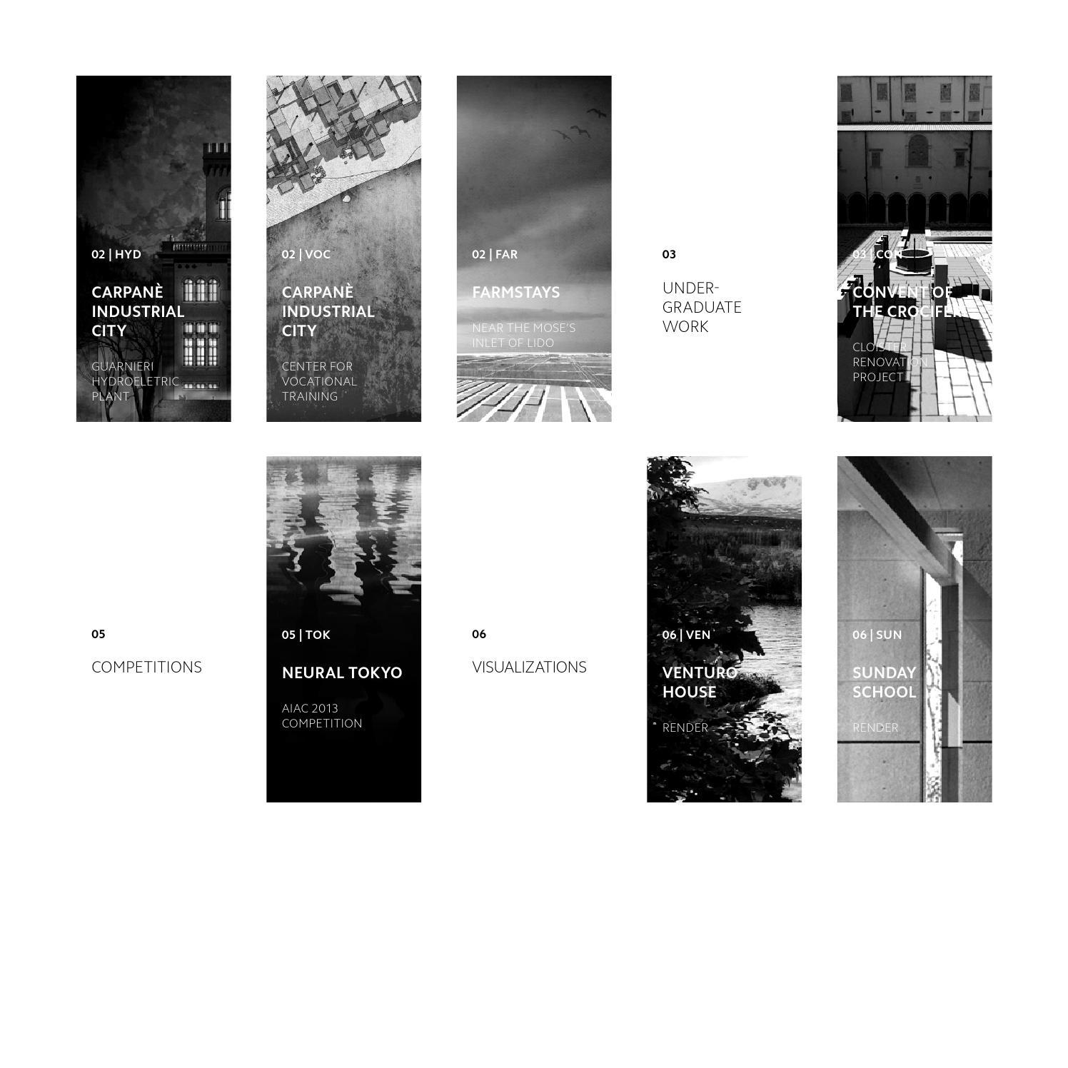 Graduate Architecture Portfolio By Andrea