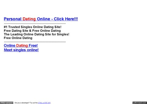 Online speed dating software