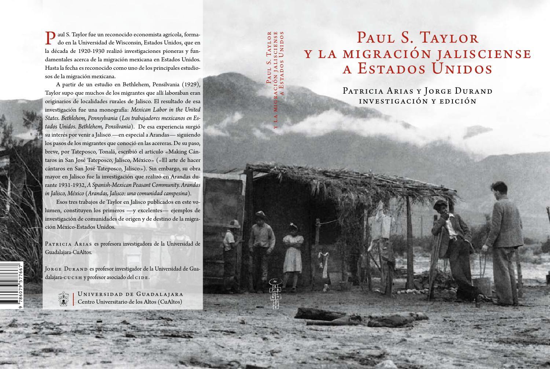 Paul S Taylor Y La Migraci N Jaliscience A Estados Unidos By  # Taylor Muebles Guadalajara
